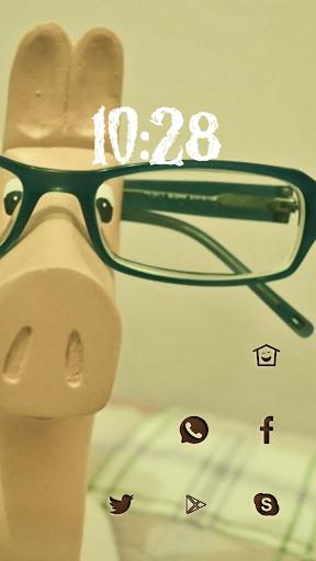 Pony with Glasses
