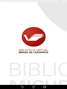 Biblioteca Virtual Cervantes- screenshot thumbnail