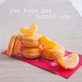 Clementine Macarons with Orange Buttercream.