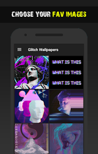 glitch wallpapers hd backgrounds free app apps on google play
