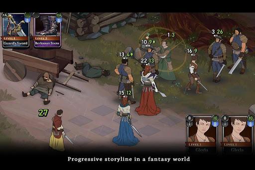 Ash of Gods: Tactics  captures d'écran 2