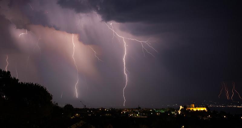 Nubi temporalesche di Welj