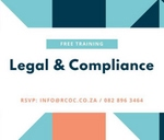 Free Legal & Compliance Training For Start Up Businesses : Rustenburg Chamber of Commerce