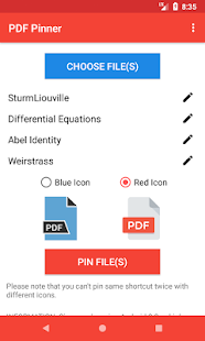 PDF Pinner: Pin PDFs To Home Screen - náhled