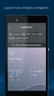 Climatempo - Previsão do Tempo- screenshot thumbnail