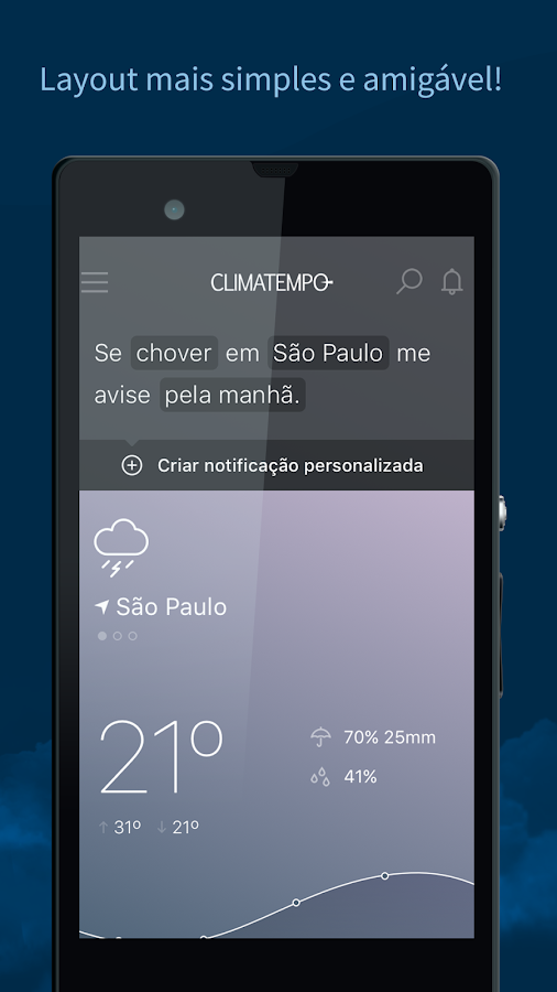 Climatempo - Previsão do Tempo- screenshot