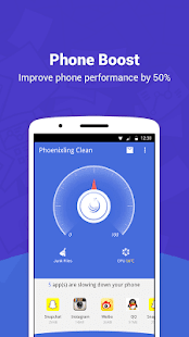 Phoenixling Clean - fast, small and esay to use. Screenshot