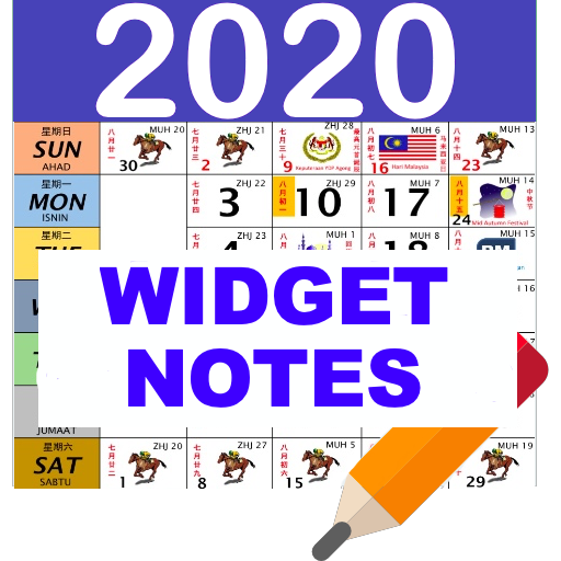 Best Android Widgets 2020 Malaysia Calendar 2020 /2019 Widget Note HD   Apps on Google Play