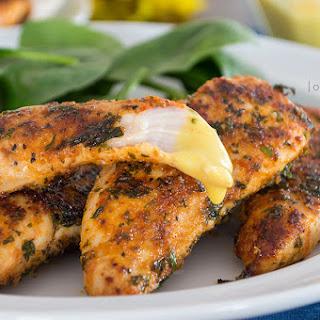 Easy Pan-Fried Chicken Tenders {grain-free; dairy-free}.