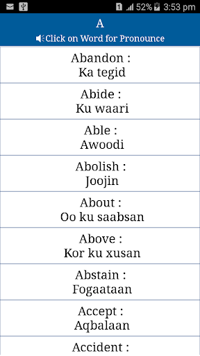 somali to english pc application