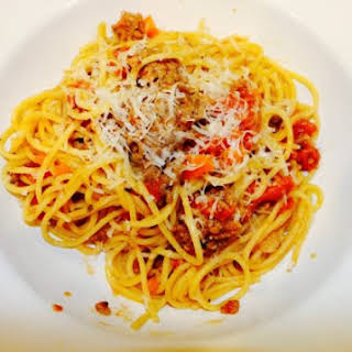 Instant Pot Spaghetti Bolognese Sauce.