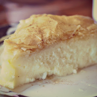 "Greek Custard Pie ""Galaktoboureko""."