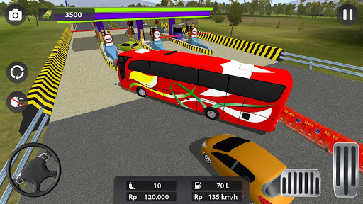 Modern Bus Parking 3D : Bus Games Simulator filehippodl screenshot 4