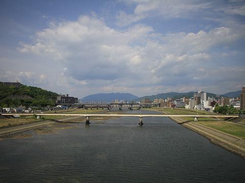 JR九州バス「広福ライナー」 4554 広島高速4号線走行中