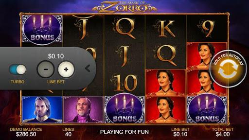 Casino Free Slot Game - THE MASK OF ZORRO 1.0.1 screenshots 1