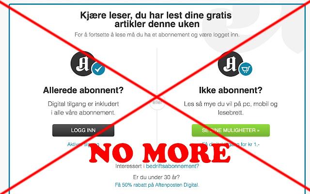 Aftenposten.no Unlimited