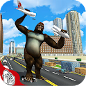 Angry Gorilla Kong Attack - City Rampage 2019 icon