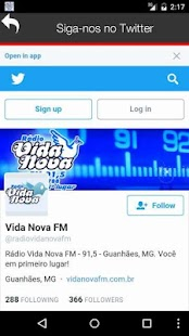 Rádio Vida Nova FM- screenshot thumbnail