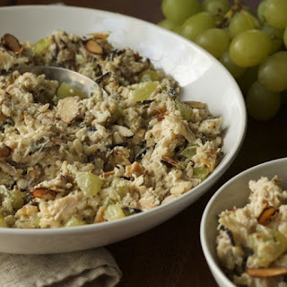 Chicken (or Tofu!) & Wild Rice Salad