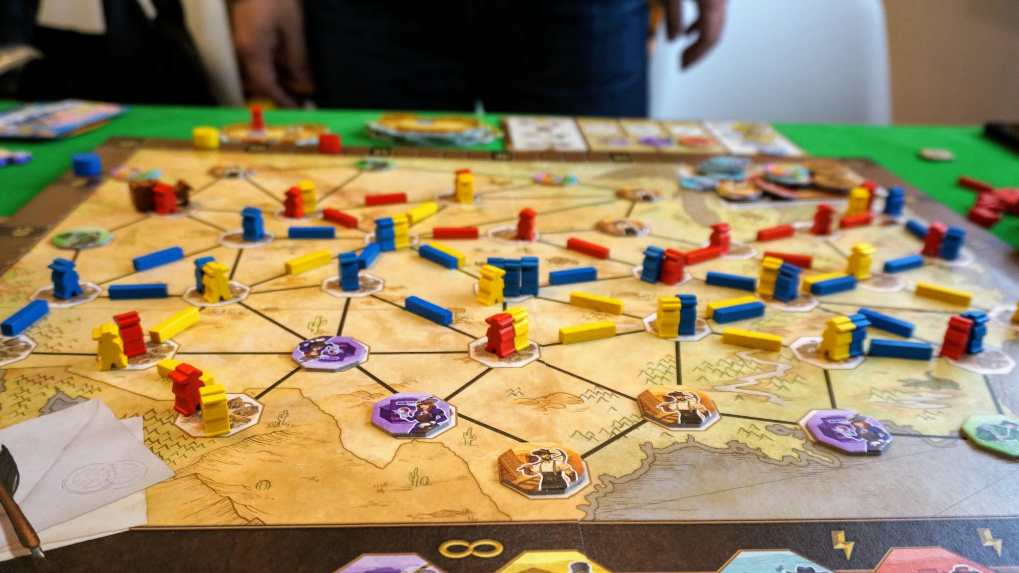 パイオニア:ゲーム終了時の様子