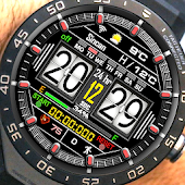 D 101 Digital Watch Face For WatchMaker Users Icon