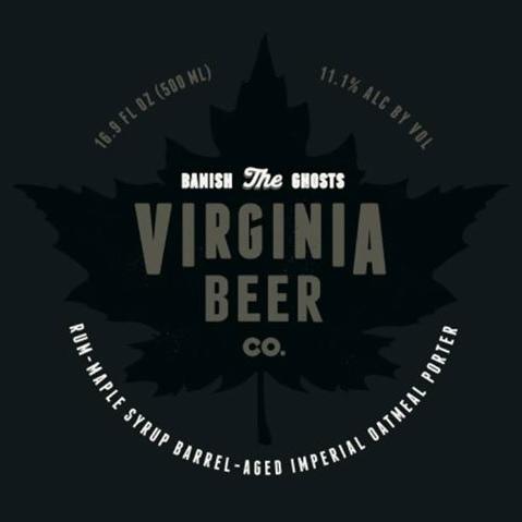Logo of Virginia Beer Co. Banish the Ghosts