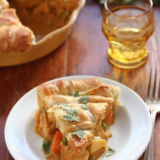 Coconut Curry Chicken Pot Pie.