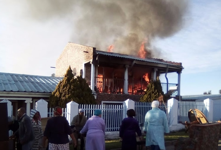 A 72-year-old man died during the fire at a double story building in Makhanda (formerly known as Grahamstown).