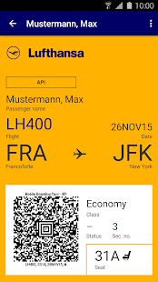 Lufthansa- miniatura screenshot