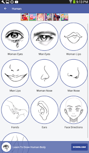 Learn To Draw for PC-Windows 7,8,10 and Mac apk screenshot 21