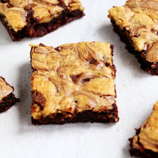 High Protein Brownie Chocolate Chip Cookie Dough Bars Recipe