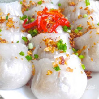 Steamed Yam Bean Dumplings (Chai Kuih)