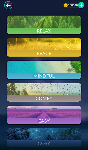 Word Tiles: Relax n Refresh - screenshot