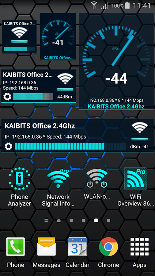 WiFi Overview 360 Pro- screenshot