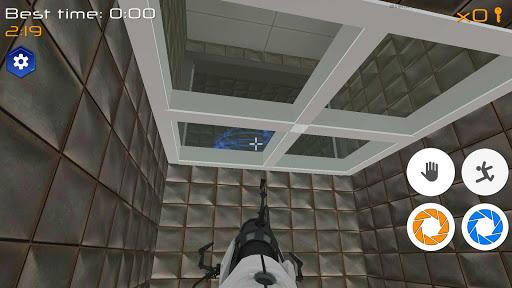 Portal Maze 2 - Aperture spacetime jumper games 3d 1.4 screenshots 2