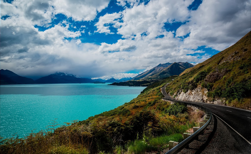 Photo: The blue blue blue waters of New Zealand...