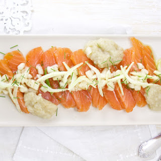 Salmon Carpaccio with Fennel – Pear 2 Ways Recipe