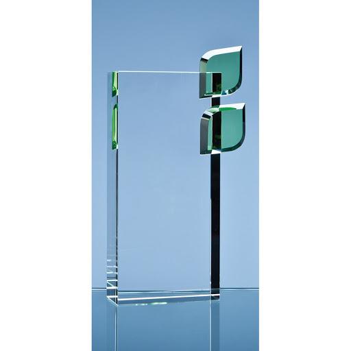 17cm Optical Crystal Eco Excellence Award