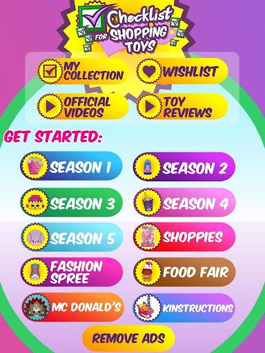 Checklist for Shopping Toys 1.0.57 screenshots 1