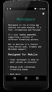 Monospace BETA v1.1.1.1