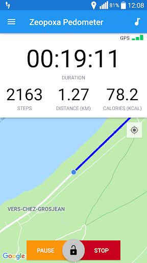 Pedometer - Step Counter, walking tracker 1.2.3 screenshots 1