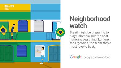 Photo: Keeping an eye on their biggest rivals. #GoogleTrends #BRA http://goo.gl/Fxad0A