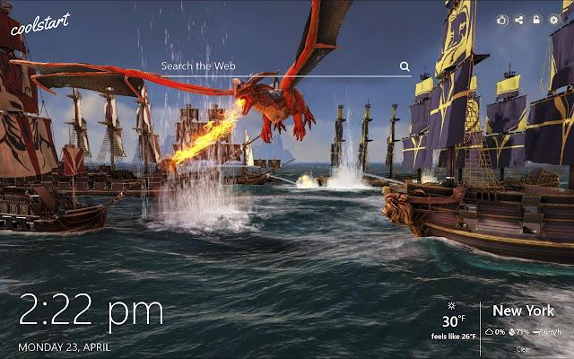 ATLAS HD Wallpapers MMO Games New Tab Theme