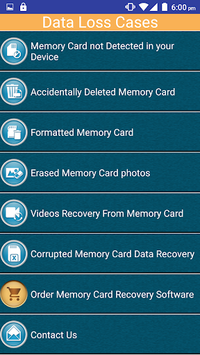 Memory Card Recovery Software 4.1 screenshots 1