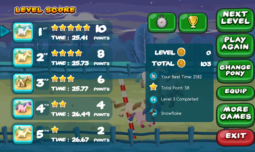 My Pony Race 2.0.6 screenshots 9