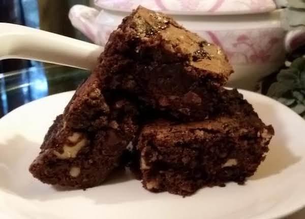 Chocolate-caramel Swirl Brownies