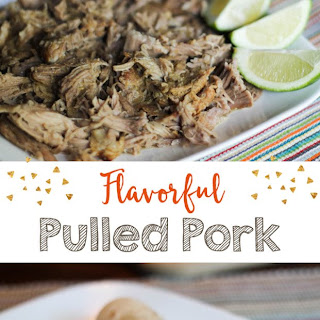 Pulled Pork with a Mexican Flare {Freezer Meal}