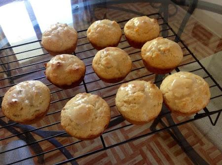 Peach Yogurt Muffins Recipe