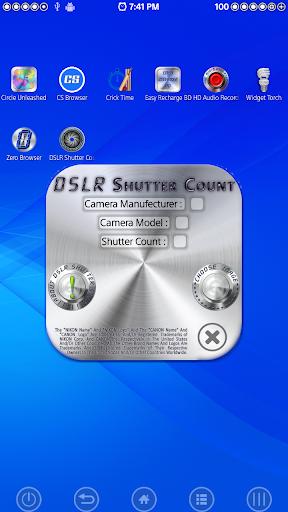 DSLR Shutter Count ▌PREMIUM