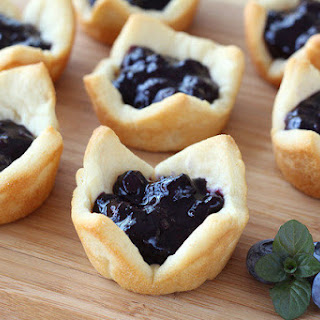 Personal Blueberry Pies.